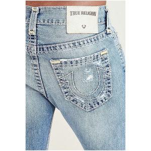 True Religion Men's Super T Rocco Skinny Jeans